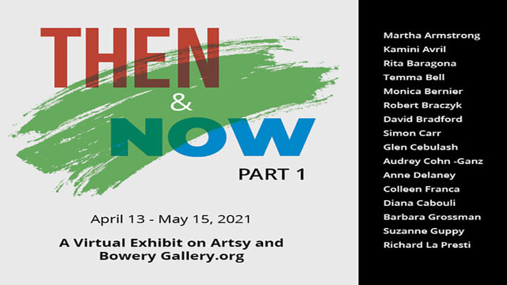 Then and Now - Part 1, installation view