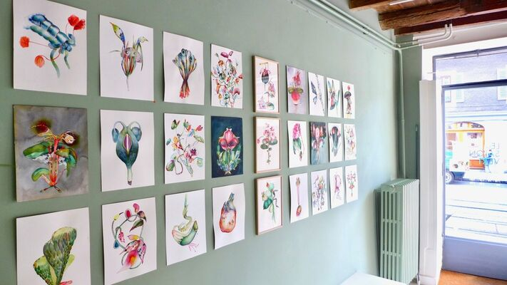 Chasser le naturel, installation view