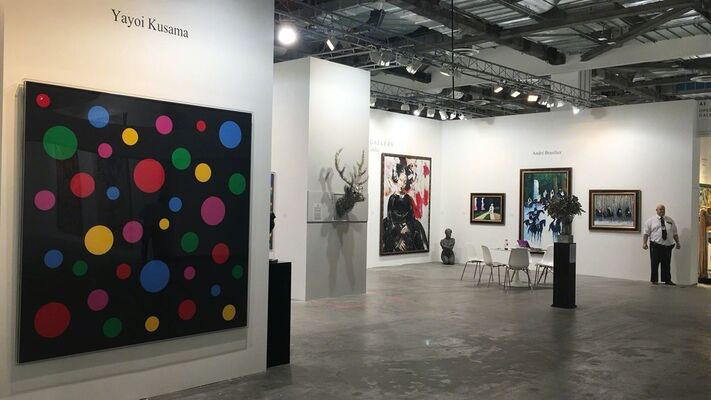 Opera Gallery at Art Stage Singapore 2017, installation view