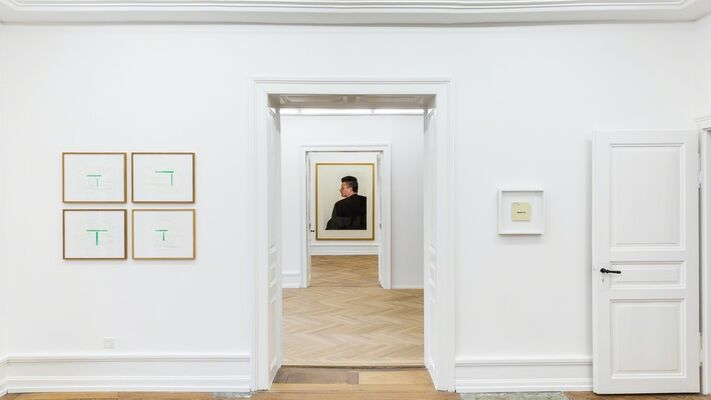 88:18 – the first year, installation view