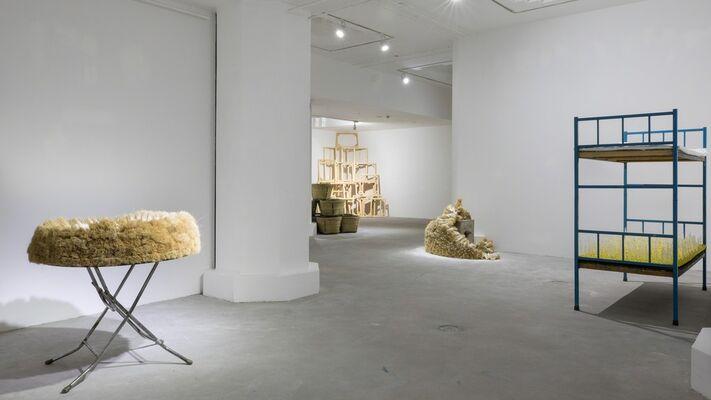 Ganjiakou 303 ZHU JINSHI solo exhibition, installation view