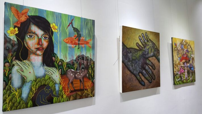 Tales from the Land of 7000 Islands, installation view