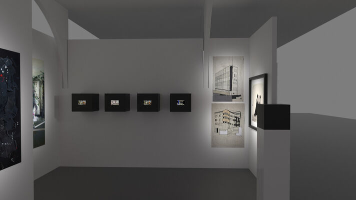 Shtager Gallery at London Art Fair 2020, installation view