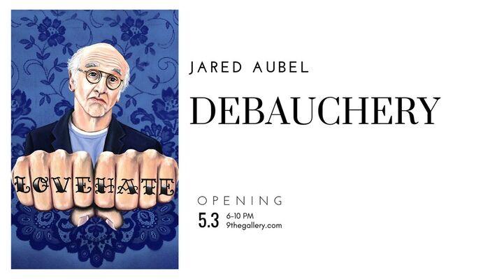 Jared Aubel: Debauchery, installation view