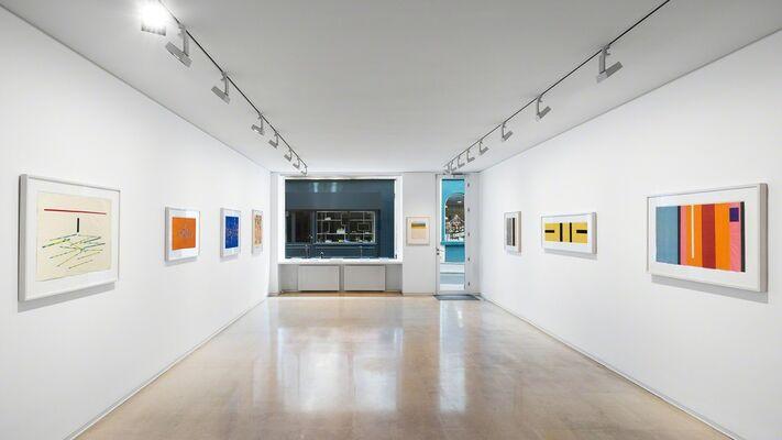 Ellsworth Kelly : work on paper, installation view