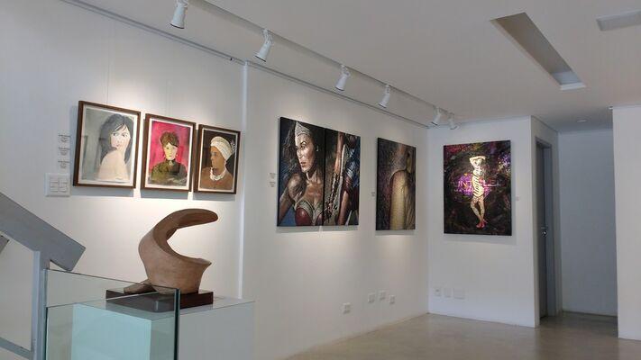 O Feminino sob o Olhar dos Gêneros, installation view