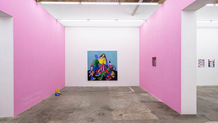 Ivana de Vivanco: Pink Maneuver, installation view