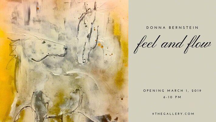 Donna Bernstein: Feel and Flow, installation view