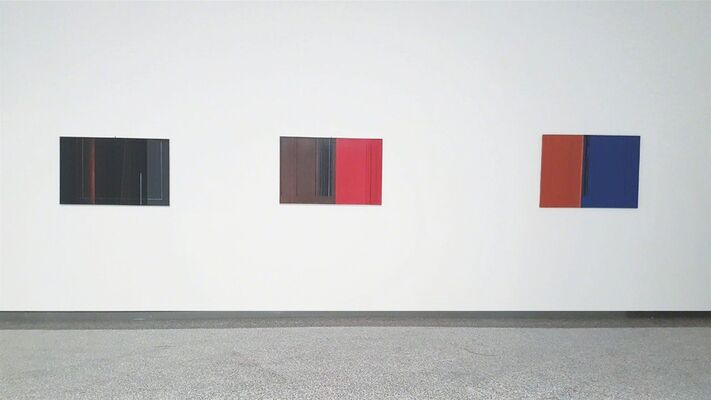 Luc Peire - When Geometry Goes beyond Emotion, installation view