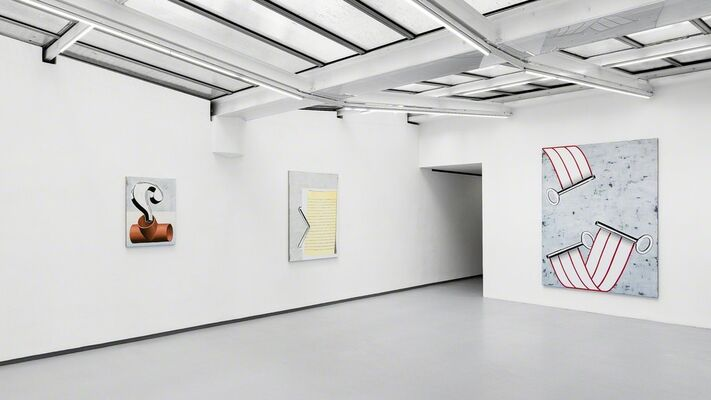 Gamberge, a solo show by ANNE NEUKAMP., installation view
