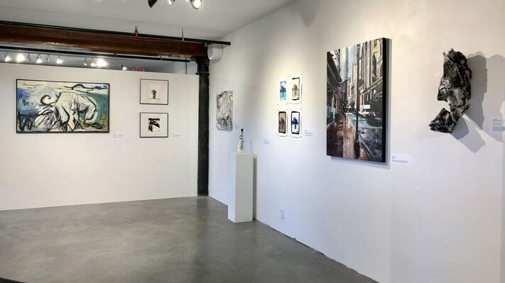 Breaking the Rules, installation view