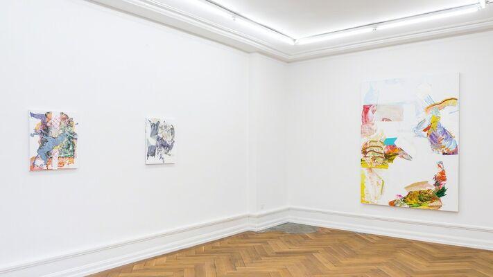 Pia Fries – corpus transludi, installation view