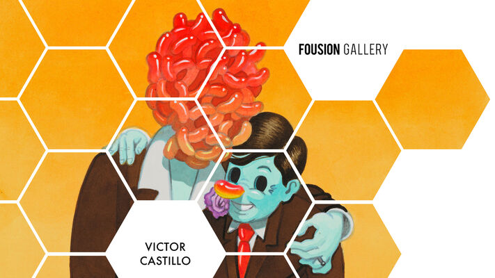 Fousion Gallery at Urvanity Art Fair Madrid 2020, installation view