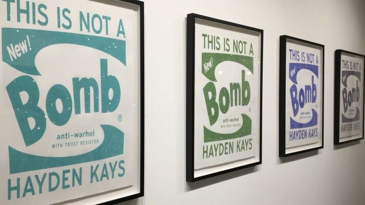 Hayden Kays: THIS IS NOT A BRILLO BOX, installation view