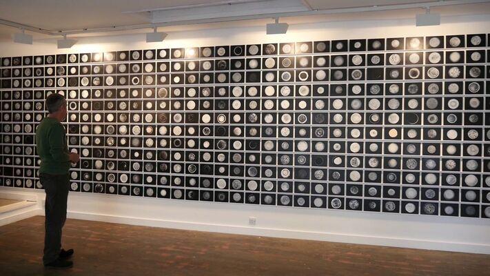 Simon Averill 'Singularity', installation view