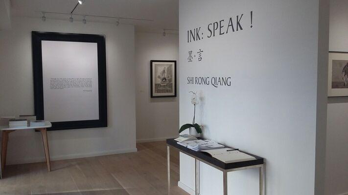 Ink: Speak!, installation view