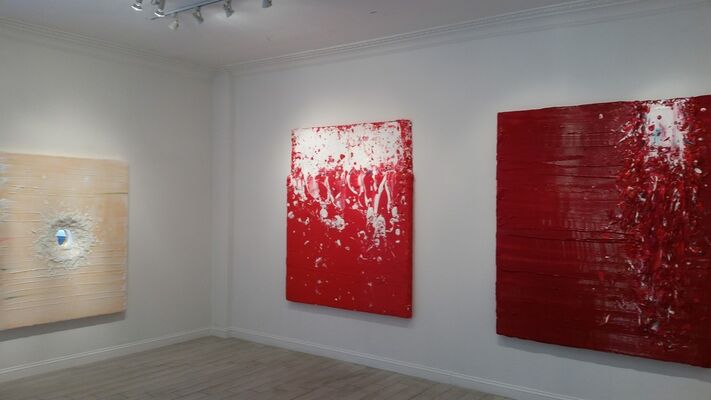 Jane Lee: Wall Matters, installation view
