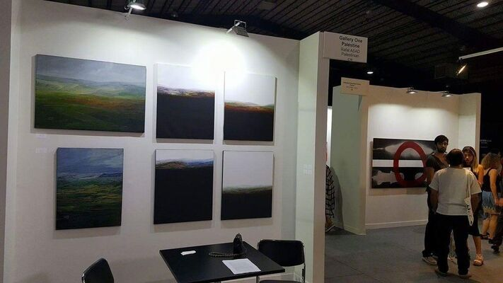 Gallery One at Beirut Art Fair 2016, installation view