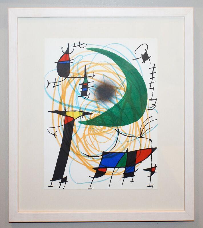 Joan Miró, 'Plate VII', 1972, Print, Lithograph, Georgetown Frame Shoppe