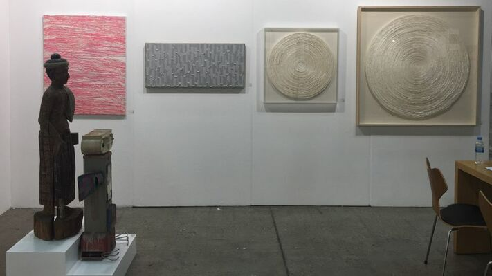 Art Works Paris Seoul Gallery at KIAF 2016, installation view