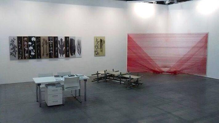 Alberta Pane at Artissima 2016, installation view