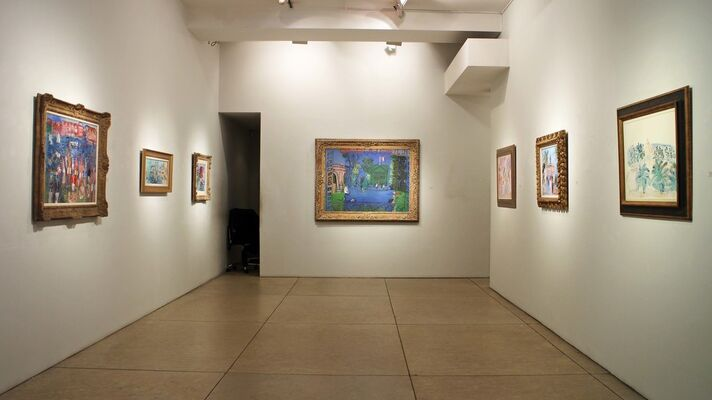 Raoul Dufy: A Spectacle of Society, installation view