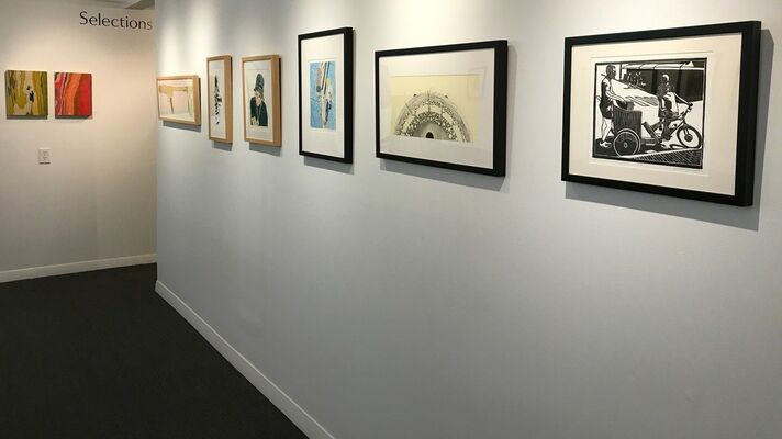 """""""Lines: Simple and Complex Part 2, installation view"""