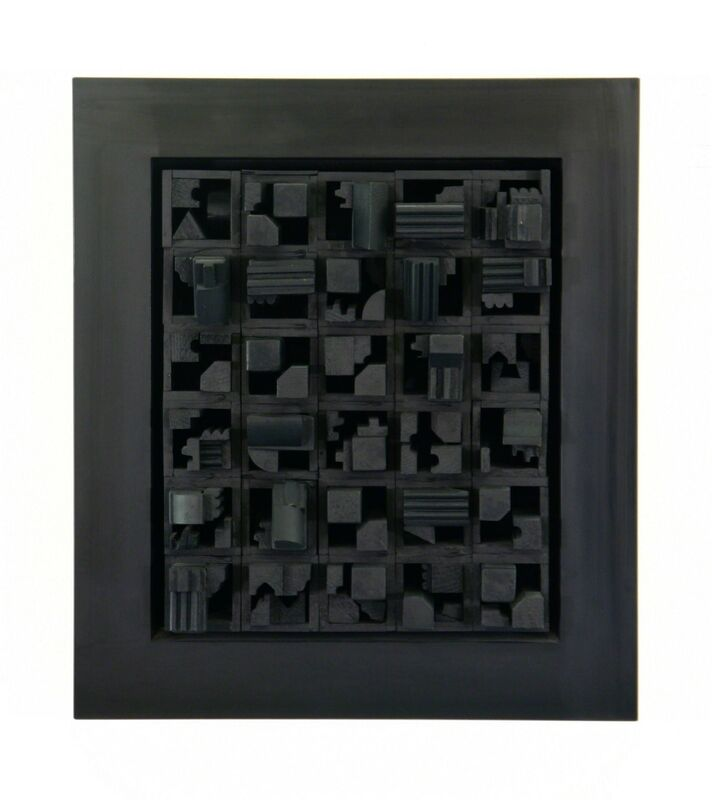 Louise Nevelson, 'City Space Scape XX', 1971, Sculpture, Painted wood and formica, Rumi Galleries