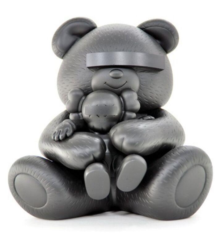 KAWS, 'Undercover Bear (Black)', 2009, Other, Cast vinyl, MSP Modern Gallery Auction