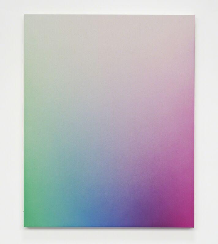 Oliver Marsden, 'Spectrum Fade GCBVM II (light)', 2017, Painting, Acrylic on canvas, Galería Hilario Galguera