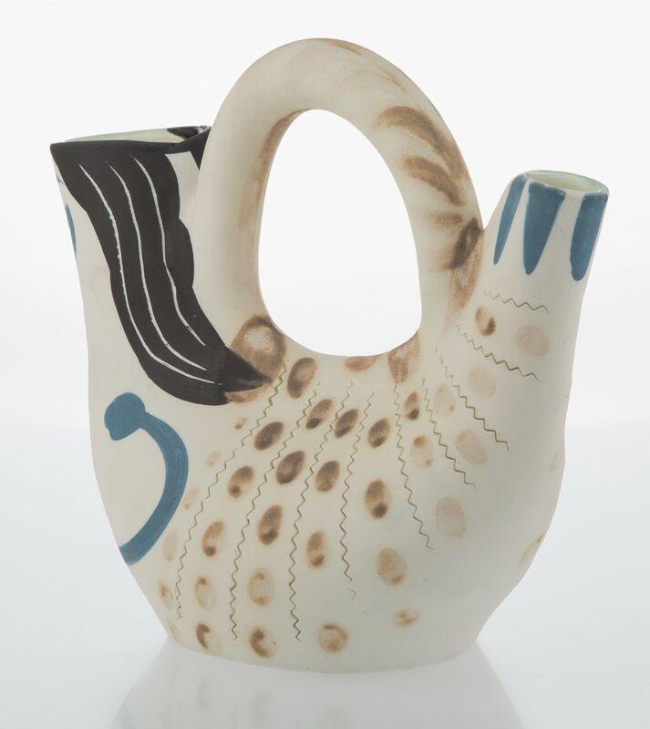 Pablo Picasso, 'Figure de proue', 1952, Design/Decorative Art, Terre de faïence pitcher partially hand painted, Heritage Auctions