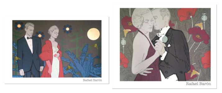 Rafael Barón, 'Amapola, and Humo en los ojos, Painting Set', 2019