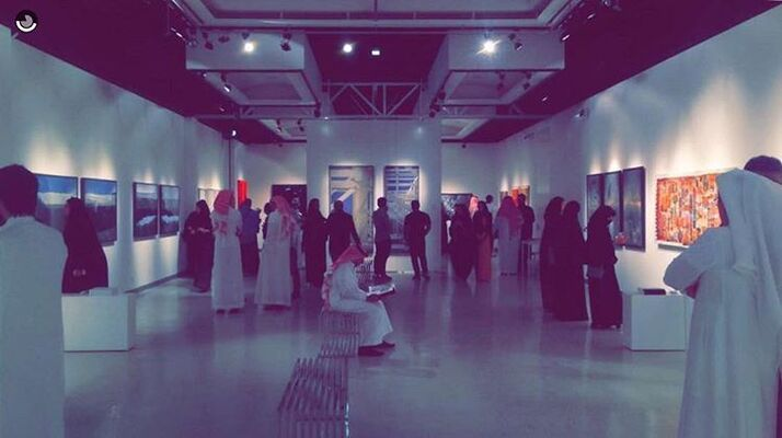 Bab Jeddah at L'Art Pur Gallery, installation view
