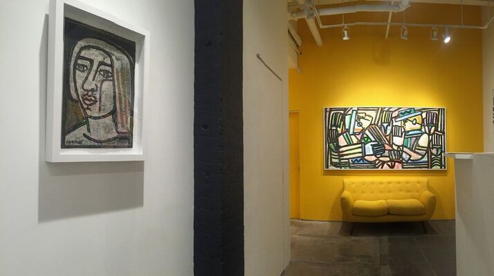"""""""This Is America"""" New Works by AMERICA MARTIN, installation view"""