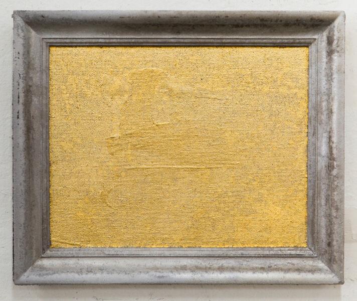 Jürgen Drescher, 'Casted Gilded Canvas', 2014