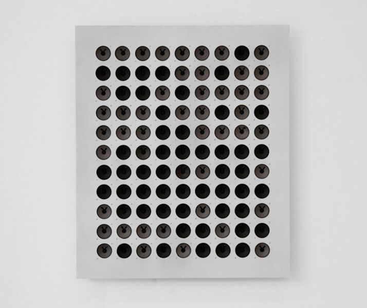 Tristan Perich, 'Interval Study #1: 99 divisions of the perfect 4th from D1 to G1', 2010