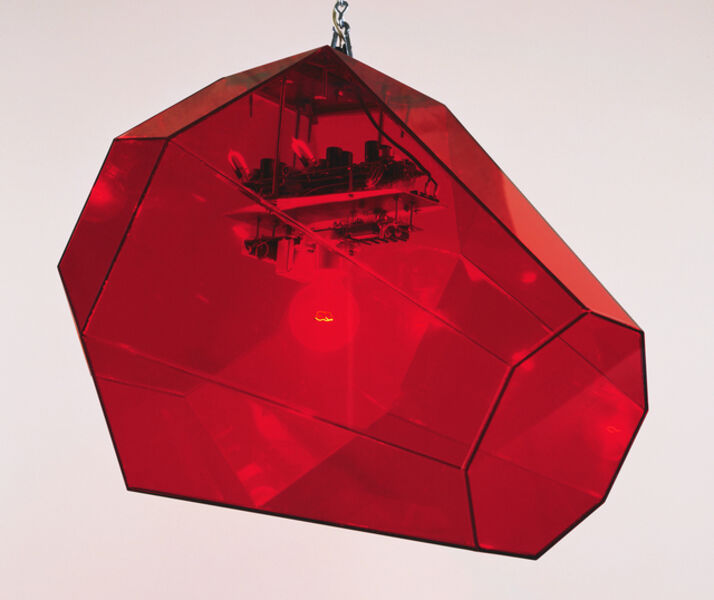 Jonathan Borofsky, 'I Dreamed I Found a Red Ruby', 1986