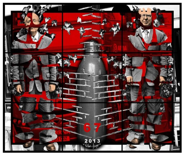 Gilbert and George, '67', 2013