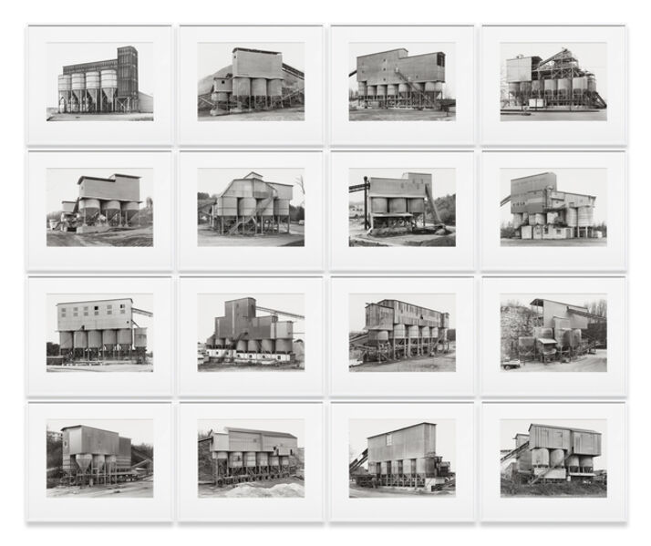 Bernd and Hilla Becher, 'Gravel Plants', 1987-1992