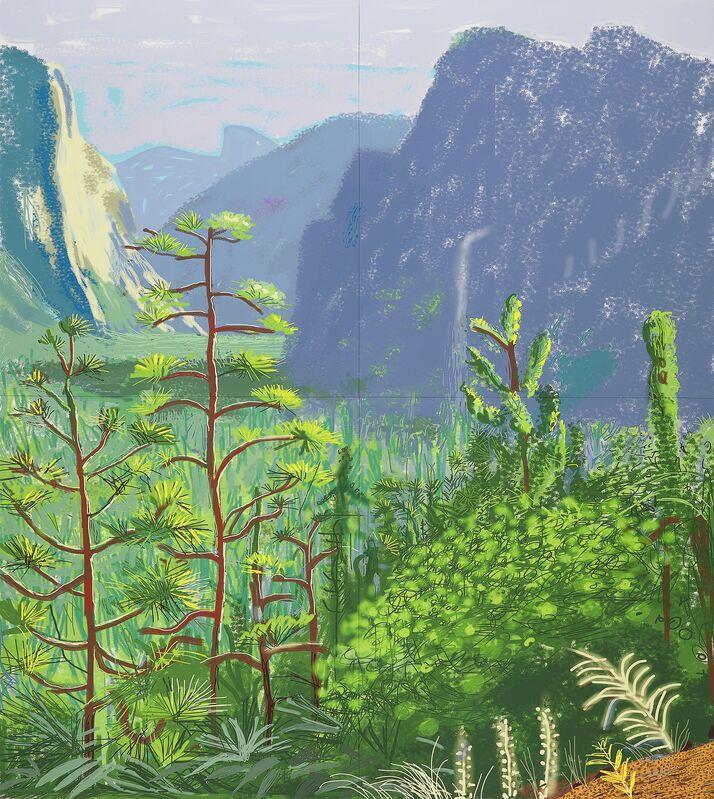 David Hockney, 'Yosemite I, October 16th 2011 (1059) ', 2011, Other, IPad drawing, National Gallery of Victoria