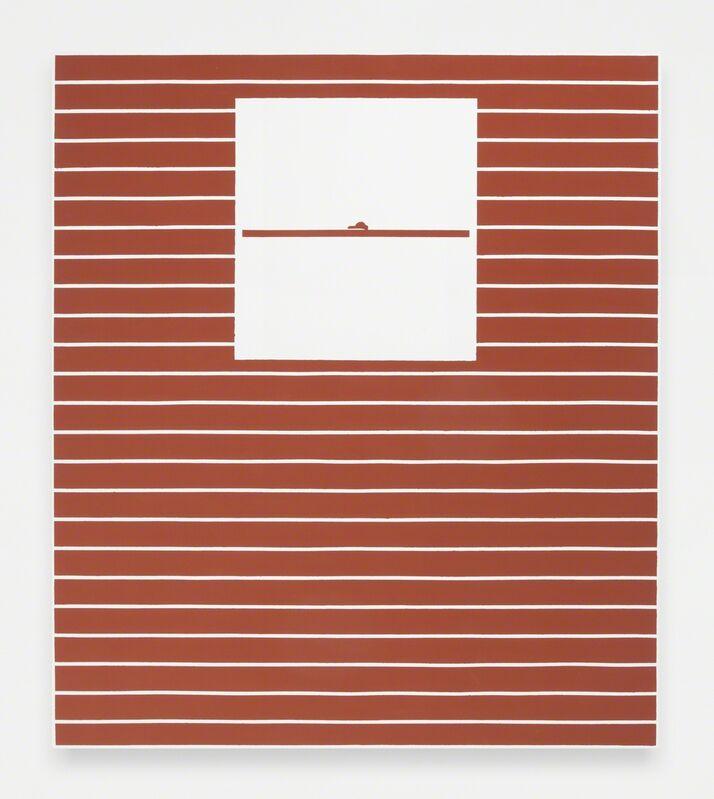 Andrew Gbur, 'House Painting (ochre)', 2014, Painting, Vinyl base paint on canvas, The Still House Group