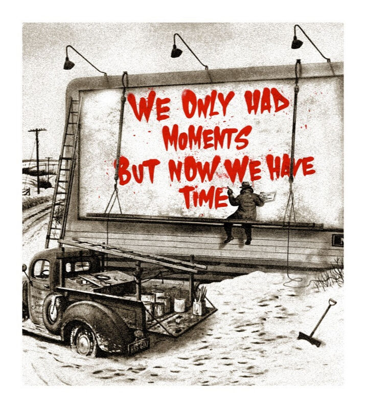 Mr. Brainwash, 'Now Is The Time (Red)', 2020, Print, Silkscreen edition print on paper, Taglialatella Galleries