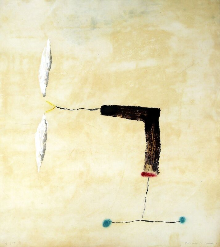 Riera i Aragó, 'Avió rodes blaves', 2015, Print, Etching, Polígrafa Obra Gráfica