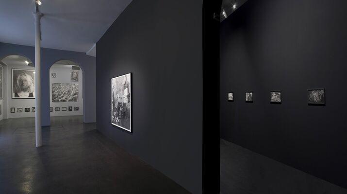 Jérôme Zonder - Des homo sapiens, installation view