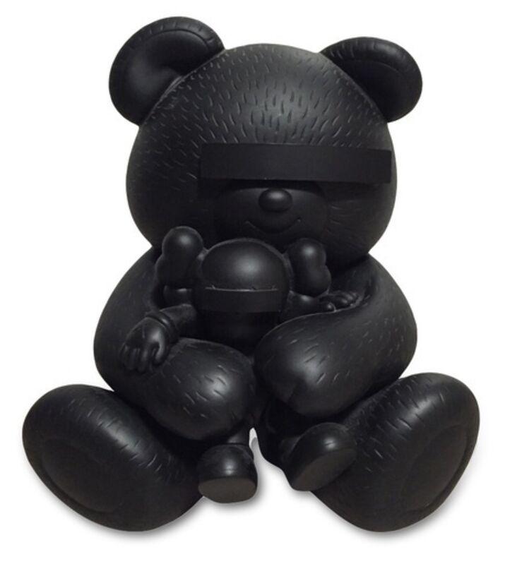 KAWS, 'KAWS X JUN TAKAHASHI UNDERCOVER BEAR BLACK', 2009, Sculpture, Painted Cast Vinyl, Marcel Katz Art