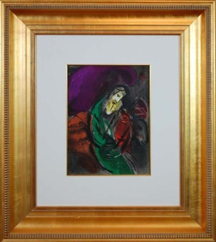 Marc Chagall, 'Jeremiah', 1956, Reproduction, Lithograph on paper, Baterbys