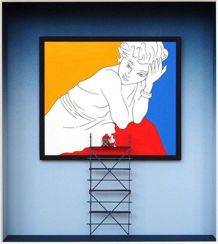 Volker Kühn, 'Homage to Matisse (frame) ', Mixed Media, Mixed media, Plus One Gallery