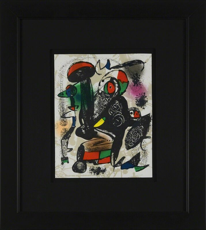 Joan Miró, 'Untitled (Lithographe IV, M.1258)', Print, Lithograph, Martin Lawrence Galleries