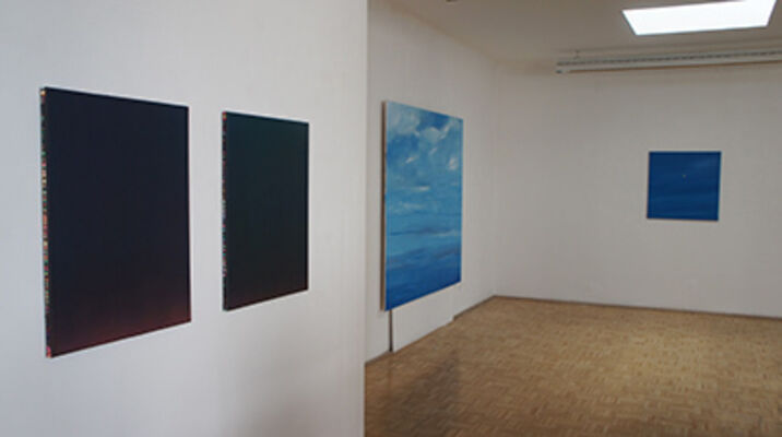 wonkun jun / ronald kodritsch `scheinbar monochrom´, installation view