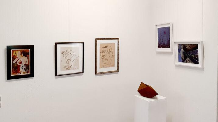 Große Kunst im kleinen Format, installation view